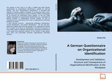 Bookcover of A German Questionnaire on Organizational Identification