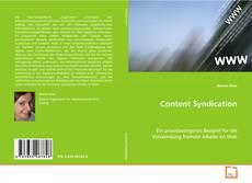Couverture de Content Syndication