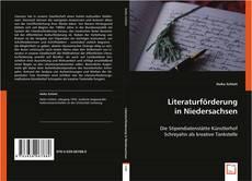 Обложка Literaturförderung in Niedersachsen