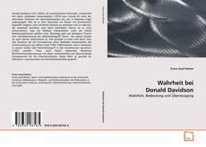Buchcover von Wahrheit bei Donald Davidson