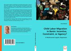 Обложка Child Labor Migration in Benin: Incentive, Constraint, or Agency?