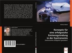 Buchcover von Konzepte für eine erfolgreiche Existenzgründung in der Gastronomie