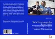 Capa do livro de Weiterbildungsstrategien junger Frauen