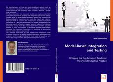 Bookcover of Model-based Integration and Testing