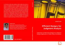 Portada del libro de Efficient Designs for Judgment Analysis