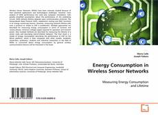Portada del libro de Energy Consumption in Wireless Sensor Networks
