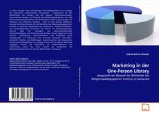 Bookcover of Marketing in der One-Person Library