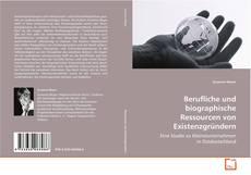 Buchcover von Berufliche und biographische Ressourcen von Existenzgründern