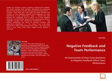 Обложка Negative Feedback and Team Performance