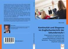 Buchcover von Kontinuität und Diagnose im Englischunterricht der Sekundarstufe I