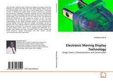 Buchcover von Electronic Moving Display Technology