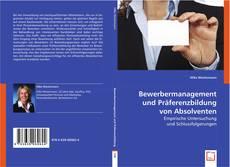 Capa do livro de Bewerbermanagement und Präferenzbildung von Absolventen