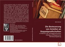 Capa do livro de Die Besteuerung von Anteilen an Doppelgesellschaften