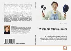 Bookcover of Words for Women's Work