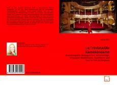 Capa do livro de La Traviata/Die Kameliendame