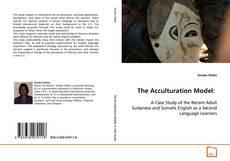 Capa do livro de The Acculturation Model: