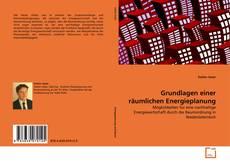 Buchcover von Grundlagen einer räumlichen Energieplanung