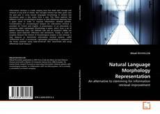 Buchcover von Natural Language Morphology Representation