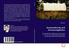 Buchcover von Auswanderung und Erinnerungskultur