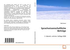 Portada del libro de Sprachwissenschaftliche Beiträge