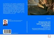 Capa do livro de Zerspanung von kaltverfestigenden Werkstoffen