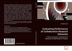 Обложка Evaluating Performance of Collaborative Research Networks