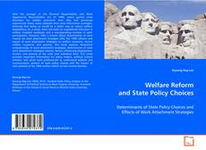 Bookcover of Welfare Reform and State Policy Choices