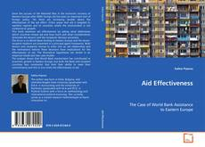 Bookcover of Aid Effectiveness