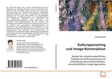 Borítókép a  Kultursponsoring und Image-Konstruktion - hoz