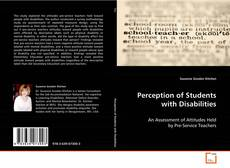 Buchcover von Perception of Students with Disabilities
