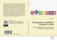 Portada del libro de The Evaluation of MATESOL Programs in Korea