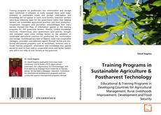 Portada del libro de Training programs in sustainable agriculture