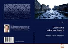 Bookcover of Citizenship in Roman Greece