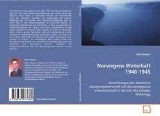 Norwegens Wirtschaft 1940-1945 kitap kapağı