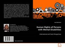 Bookcover of Human Rights of Persons with Mental Disabilities