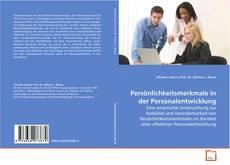 Buchcover von Persönlichkeitsmerkmale in der Personalentwicklung