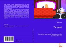 Bookcover of TV sozial