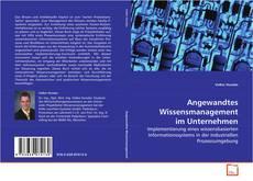 Borítókép a  Angewandtes Wissensmanagement im Unternehmen - hoz