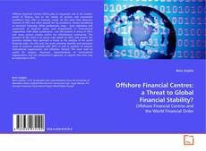 Capa do livro de Offshore Financial Centres: a Threat to Global Financial Stability?