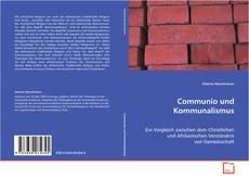 Capa do livro de Communio und Kommunalismus