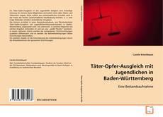 Buchcover von Täter-Opfer-Ausgleich mit Jugendlichen in Baden-Württemberg