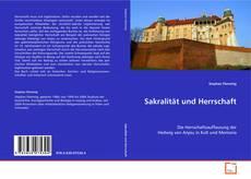 Buchcover von Sakralität und Herrschaft