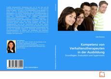 Buchcover von Kompetenz von Verhaltenstherapeuten in der Ausbildung