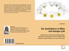 Buchcover von Der Symbolismus in Rilkes und Georges Lyrik