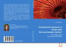 """Bookcover of Französische Autoren in """"brütt oder Die seufzenden Gärten"""""""