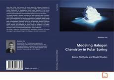 Buchcover von Modeling Halogen Chemistry in Polar Spring