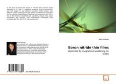 Обложка Boron nitride thin films