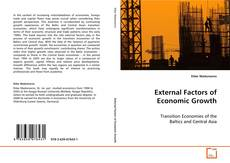 Bookcover of External Factors of Economic Growth