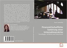 Capa do livro de Finanzwirtschaftliche Sanierung einer Unternehmenskrise