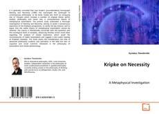 Bookcover of Kripke on Necessity